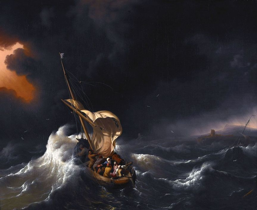 Christ-in-Storm-on-Sea-of-Galilee-Ludolf-Backhuysen
