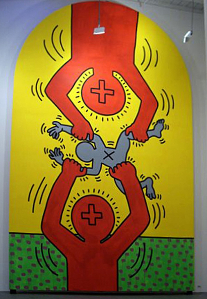 Keith Haring, Ten Commandments